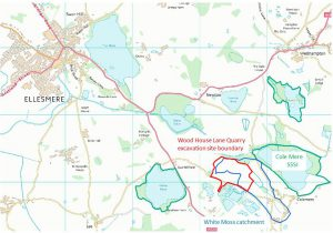 JBA Ellesmere sand and gravel quarry eco-hydrological impact assessment