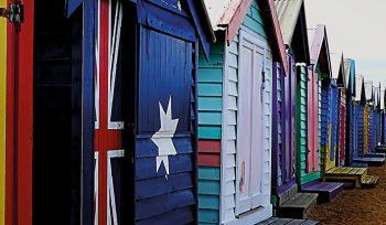 JBA Australian Flag Beach Hut