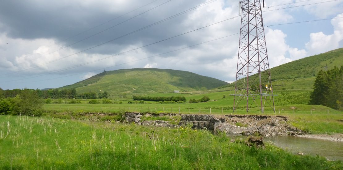 Langholm power line