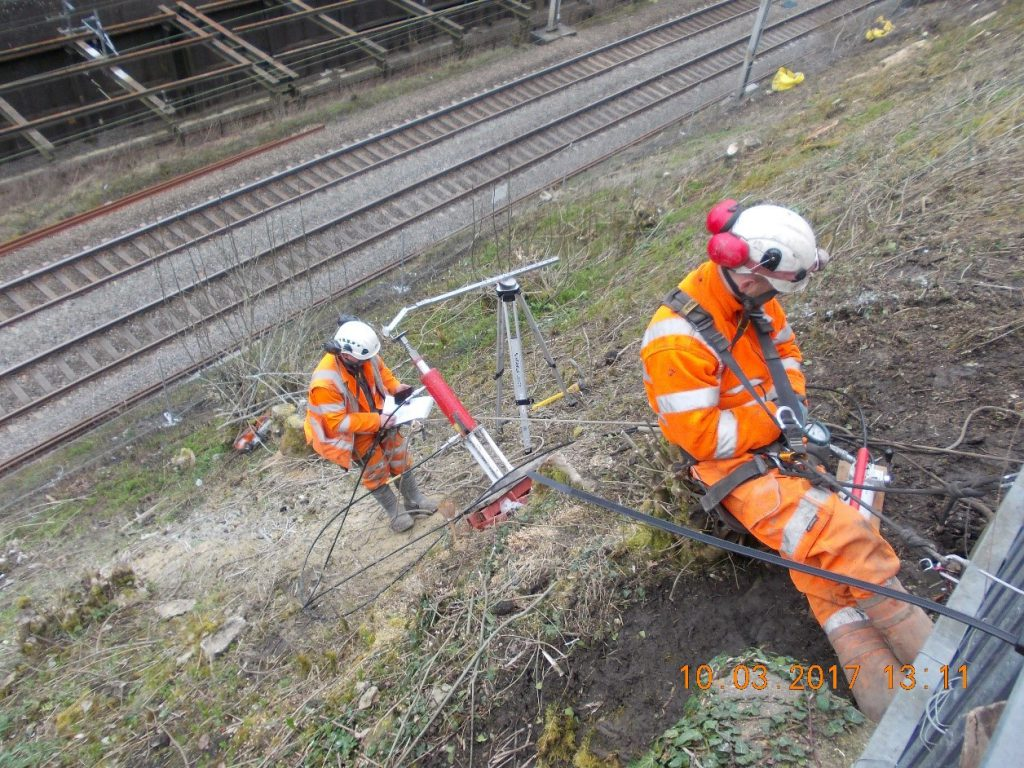 JBA Rail Slope inspection