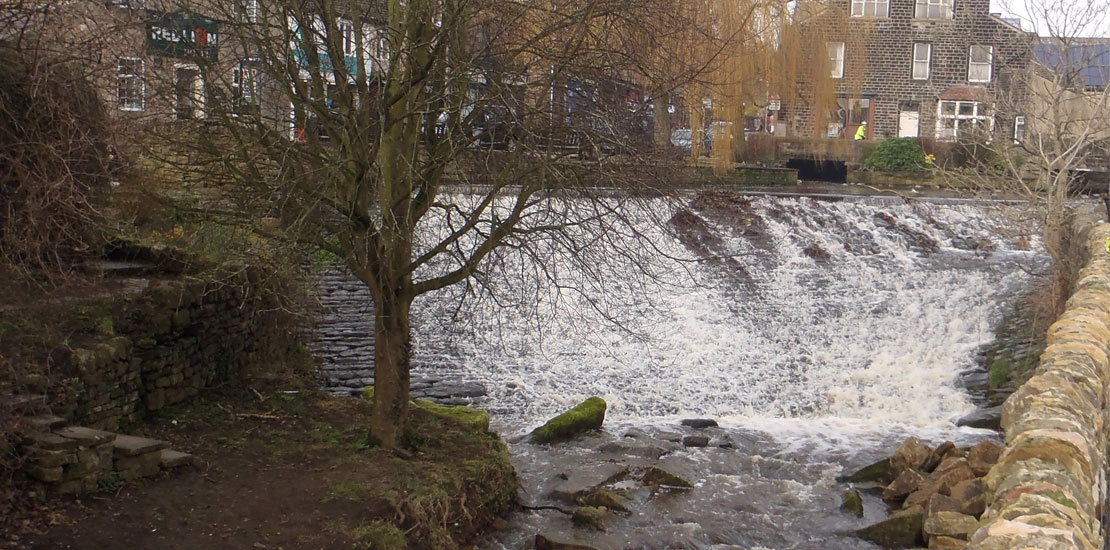 JBA Upper Aire Tributaries weir