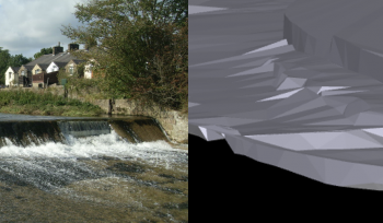 3D CAD model fish pass