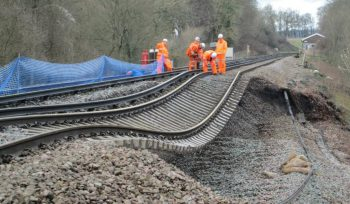Rail track and climate change