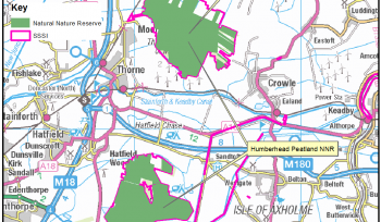 Thorne, Goole and Crowle Moors