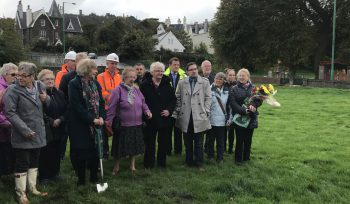 JBA IOM Sheltered Accommodation Apartments breaking ground