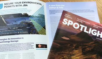 British Hydropower Association Magazine JBA ad