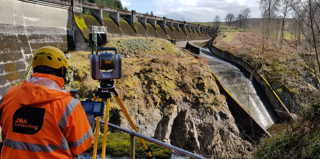 Reservoir spillway surveys