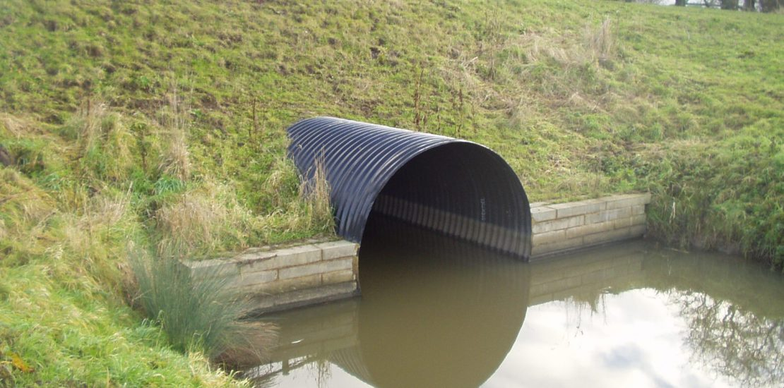 Example of a culvert