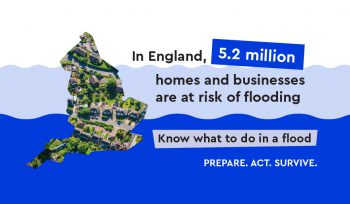 Environment Agency infographic - Flood Action Campaign