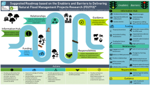 Roadmap of enablers and barriers to delivering natural flood management