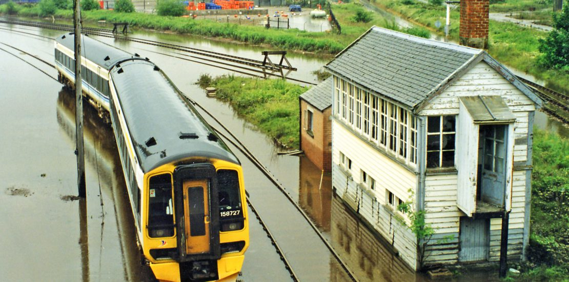 How can Flood Foresight be used to create effective risk forecasting for rail and other infrastructure operators?
