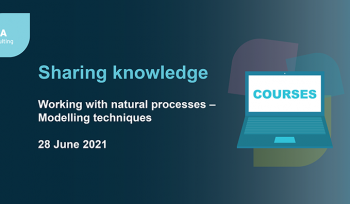 Working with natural processes – Modelling techniques training course
