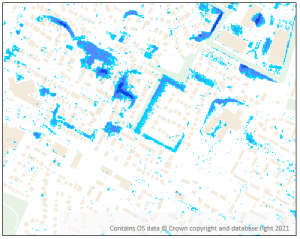 Pluvial flood hazard mapping for Scotland
