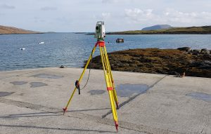 Outer Hebrides topographical surveying, Scotland